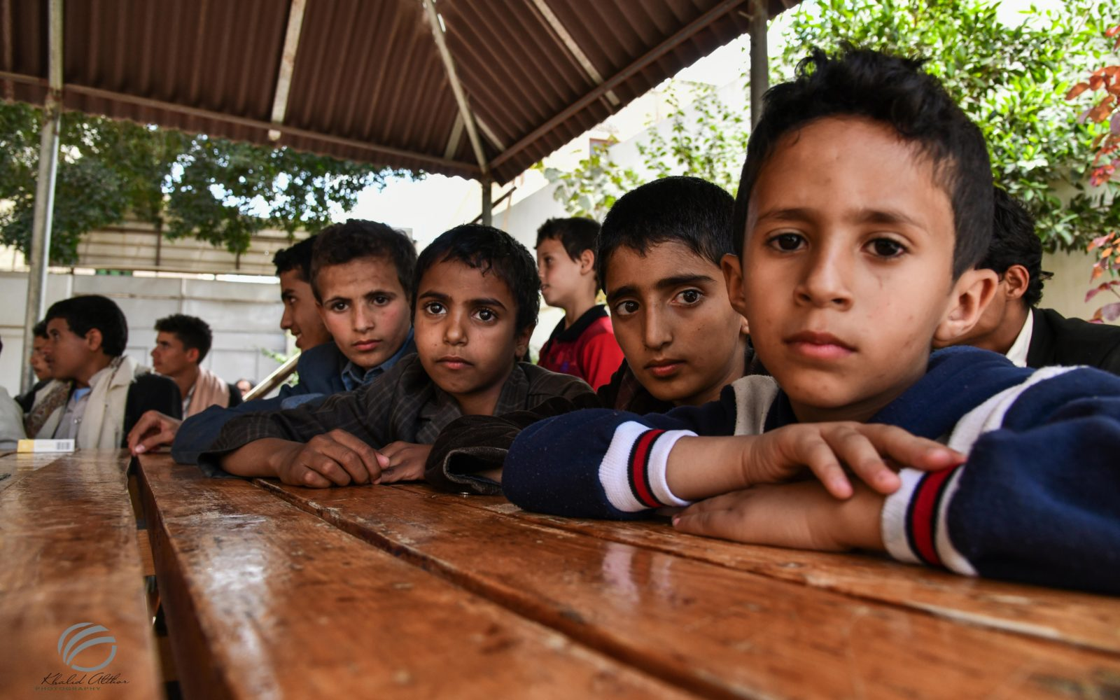 Give a future in Yemen: Learning and living in an orphanage